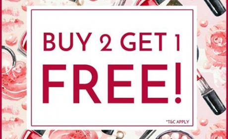 Buy 2 and get 1 Offer at Exquisite, June 2017