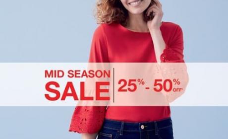 25% - 50% Sale at F & F, March 2018