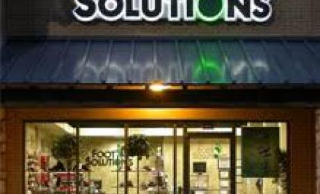 Buy 1 And get the second item for half price Offer at Foot Solutions, May 2017