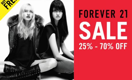 Buy 2 and get 1 Offer at Forever 21, November 2015