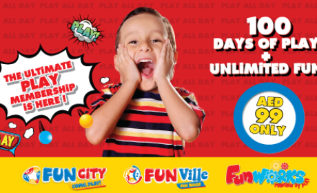 Special Offer at Fun City, October 2017