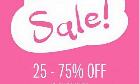 25% - 50% Sale at Galeries Lafayette, February 2016