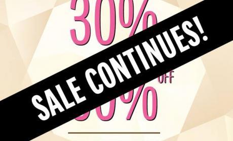 30% - 50% Sale at Galeries Lafayette, June 2016
