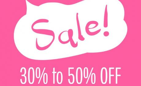 30% - 50% Sale at Galeries Lafayette, January 2018