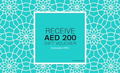 Spend 1000 And receive AED 200 gift voucher Offer at Galeries Lafayette, June 2017