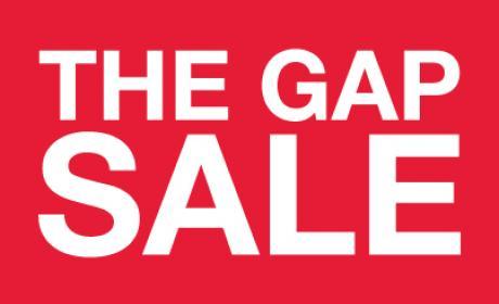30% - 60% Sale at Gap, April 2018