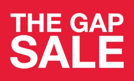 30% - 70% Sale at Gap, April 2018