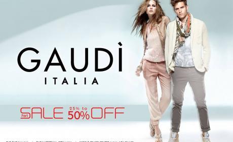 25% - 50% Sale at Gaudi, June 2014