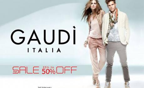 25% - 50% Sale at Gaudi, July 2014