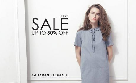 Up to 50% Sale at Gerard Darel, August 2014