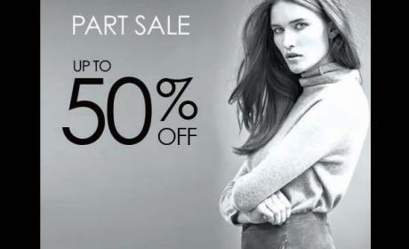 30% - 50% Sale at Gerard Darel, August 2017