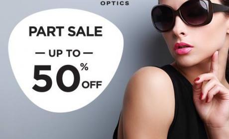 25% - 50% Sale at Grand Optics, July 2016