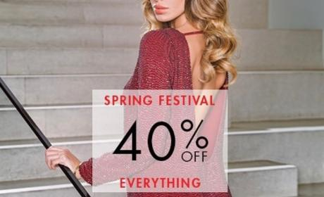 Up to 40% Sale at Guess, April 2017