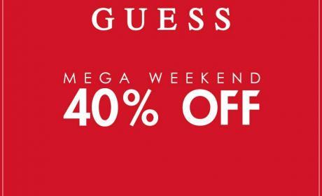 Up to 40% Sale at Guess, November 2017