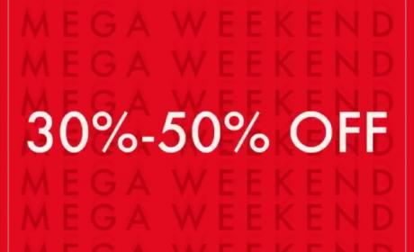 30% - 50% Sale at Guess, March 2018