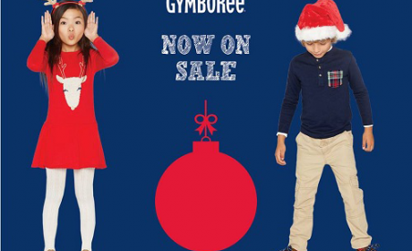 30% - 70% Sale at Gymboree, August 2017