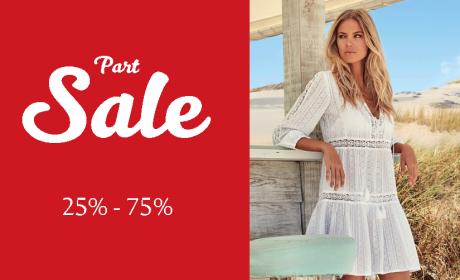 25% - 75% Sale at Hamac, August 2018
