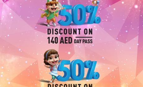 Spend 100 and Enjoy a 50% discoun Offer at Hamleys, November 2017