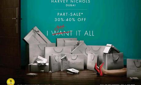 Up to 40% Sale at Harvey Nicolas, December 2015