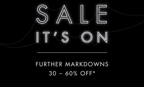 30% - 60% Sale at Harvey Nicolas, August 2017