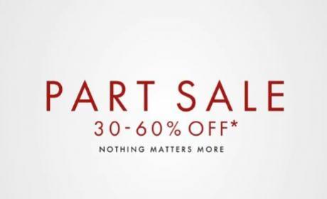 30% - 60% Sale at Harvey Nicolas, August 2018