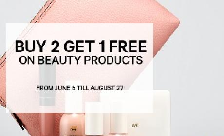 Buy 2 and get 1 Offer at H&M, August 2016