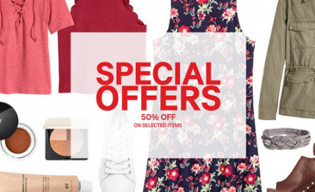 Up to 50% Sale at H&M, October 2016