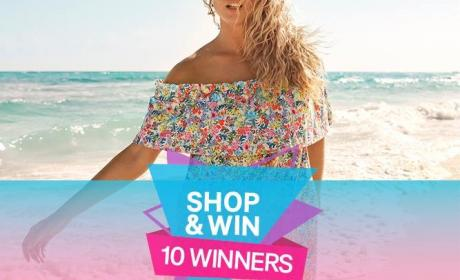 Spend 100 and get the chance to win an H&M shopping card worth DHS 10,000 Offer at H&M, June 2018