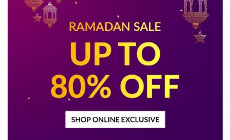 Up to 80% Sale at Home Box, May 2018