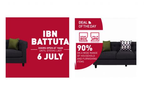Special Offer at Home Box, July 2018