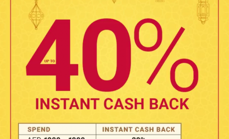 Spend 3000 And get 40% cashback Offer at Home Box, June 2018