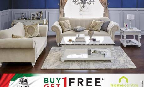 Buy 1 and get 1 Offer at Home Center, December 2016