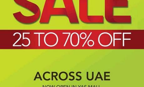 25% - 70% Sale at Home Center, December 2014