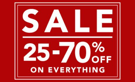 25% - 70% Sale at Home Center, March 2015