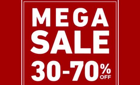 30% - 70% Sale at Home Center, April 2018