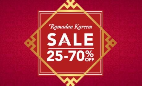 25% - 70% Sale at Home Center, May 2018