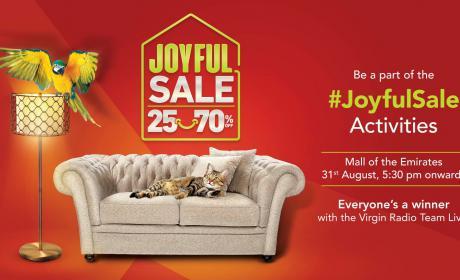 25% - 70% Sale at Home Center, September 2018
