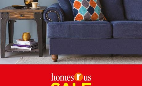25% - 70% Sale at Homes R US, February 2018