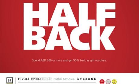 Spend 300 and get half back Offer at Hour Choice, August 2017