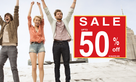 Up to 50% Sale at Hush Puppies, December 2014