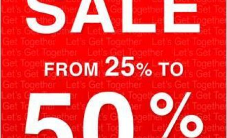 25% - 50% Sale at Hush Puppies, August 2016