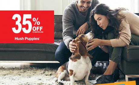 Up to 35% Sale at Hush Puppies, November 2016