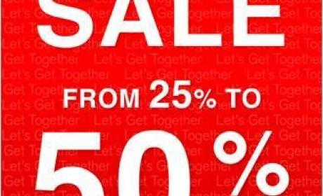 25% - 50% Sale at Hush Puppies, April 2017