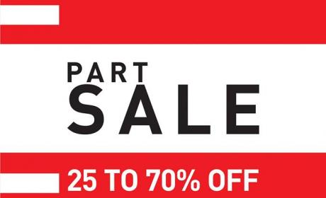 25% - 70% Sale at ICONIC, August 2014