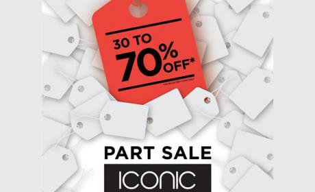 30% - 70% Sale at ICONIC, January 2018