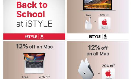 Special Offer at iStyle Apple Computers, August 2018