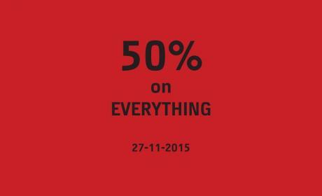 Up to 50% Sale at Jack & Jones, November 2015