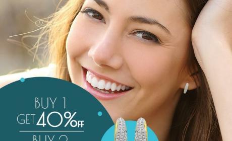 Buy 1 And get 40% off Offer at JEWEL CORNER, April 2018