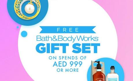 Spend 999 and get a Bath & Body Works gift set Offer at JEWEL CORNER, March 2018
