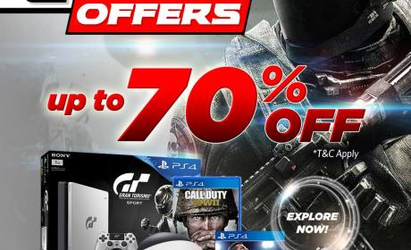Up to 70% Sale at Jumbo Electronics, December 2017